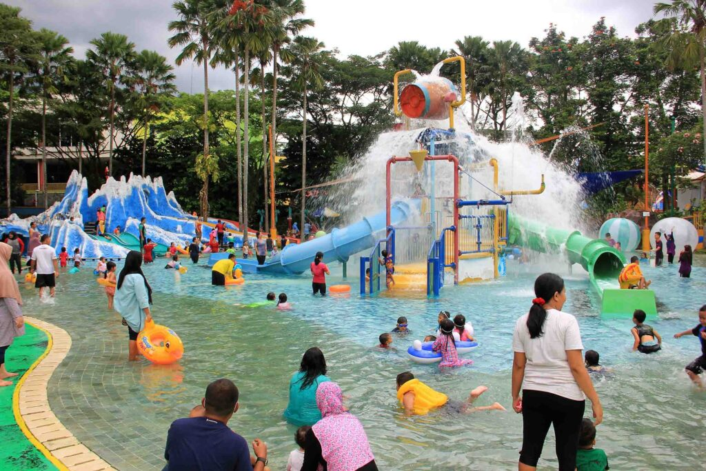 Wahana Kiddy Poll - The Jungle Waterpark Bogor