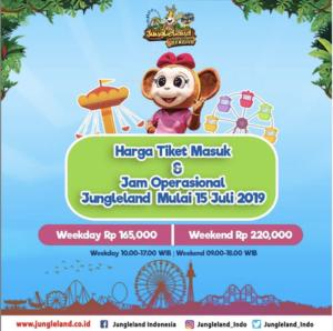 Promo Harga Tiket Masuk Jungleland