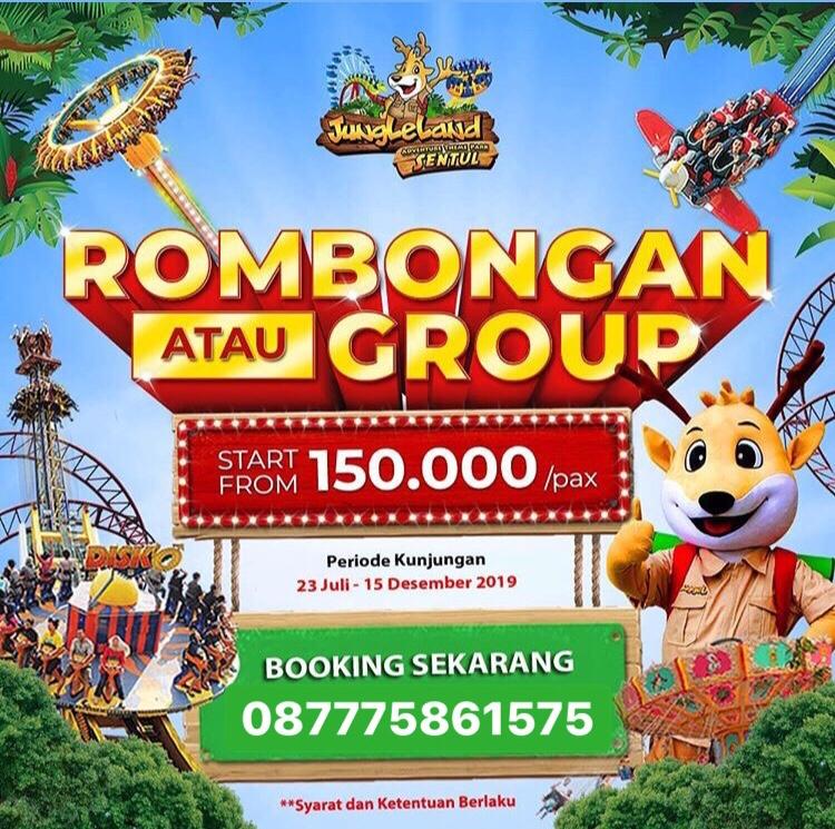 Promo Harga Tiket Masuk Jungleland Sentul Bogor September 2019