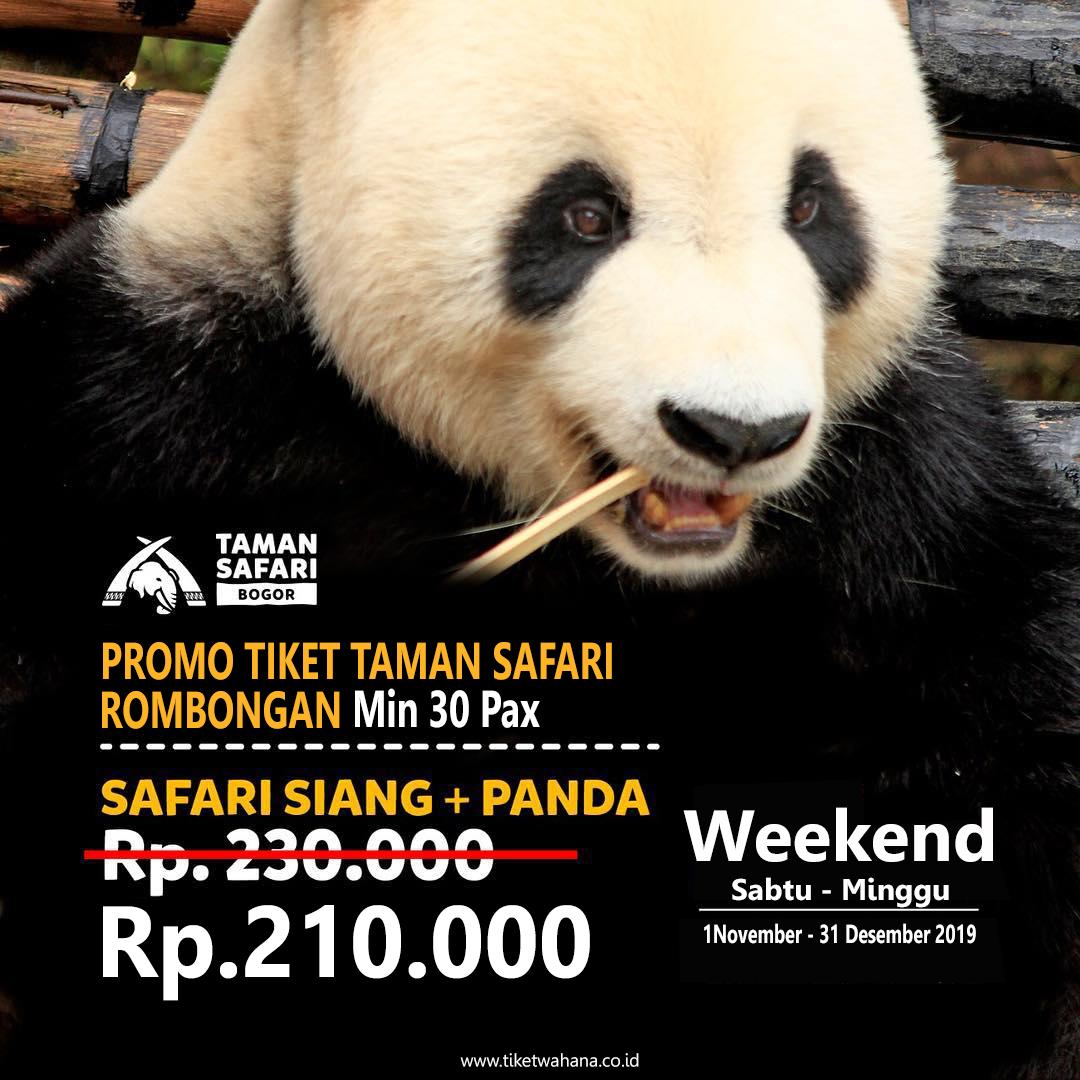 Promo Taman Safari Bogor November 2020 Diskon Khusus Rombongan