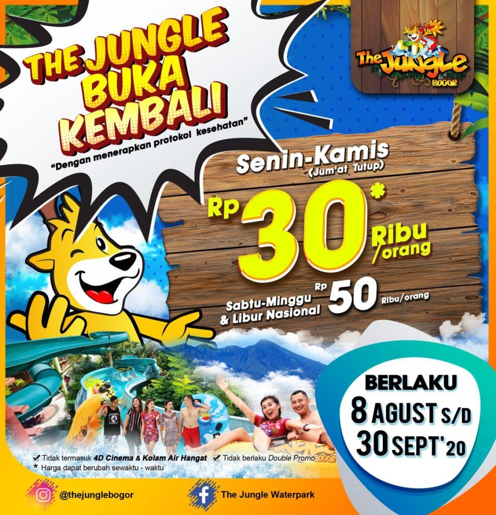 Harga Tiket The Jungle 2020