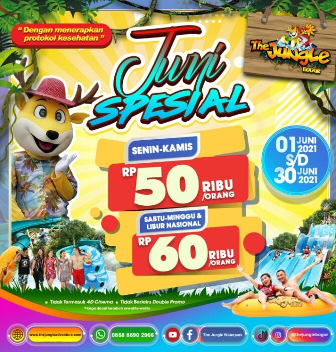 Harga Tiket The Jungle Juni 2021